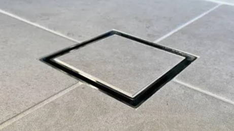 Tile Insert drains are a new unique drain system that works with our Wondercap puddle flanges to creat a perfect flawless drain system