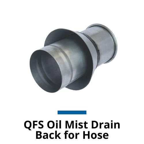 Nordfab QFS Oil Mist Drain Back for Hose