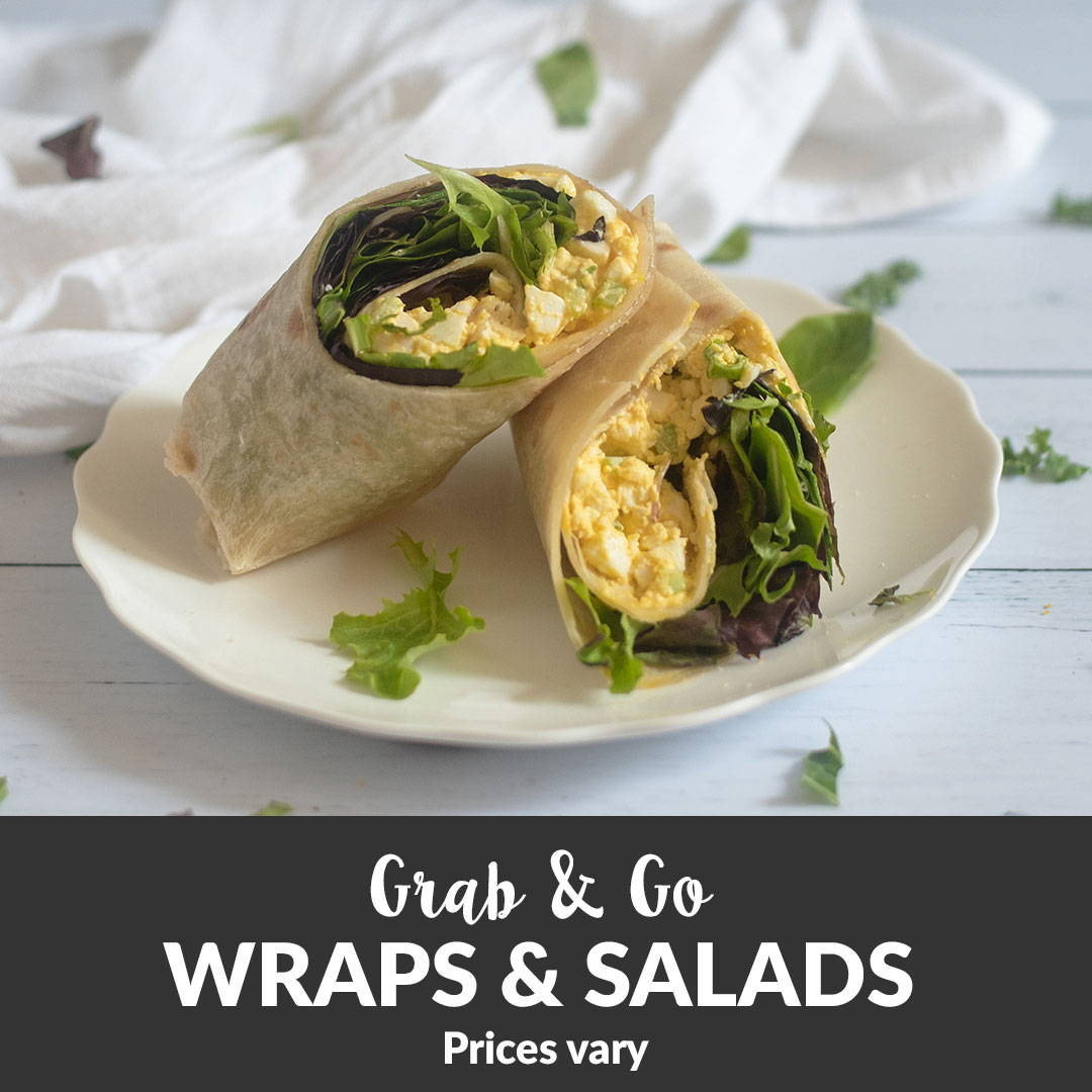 organic wraps take out