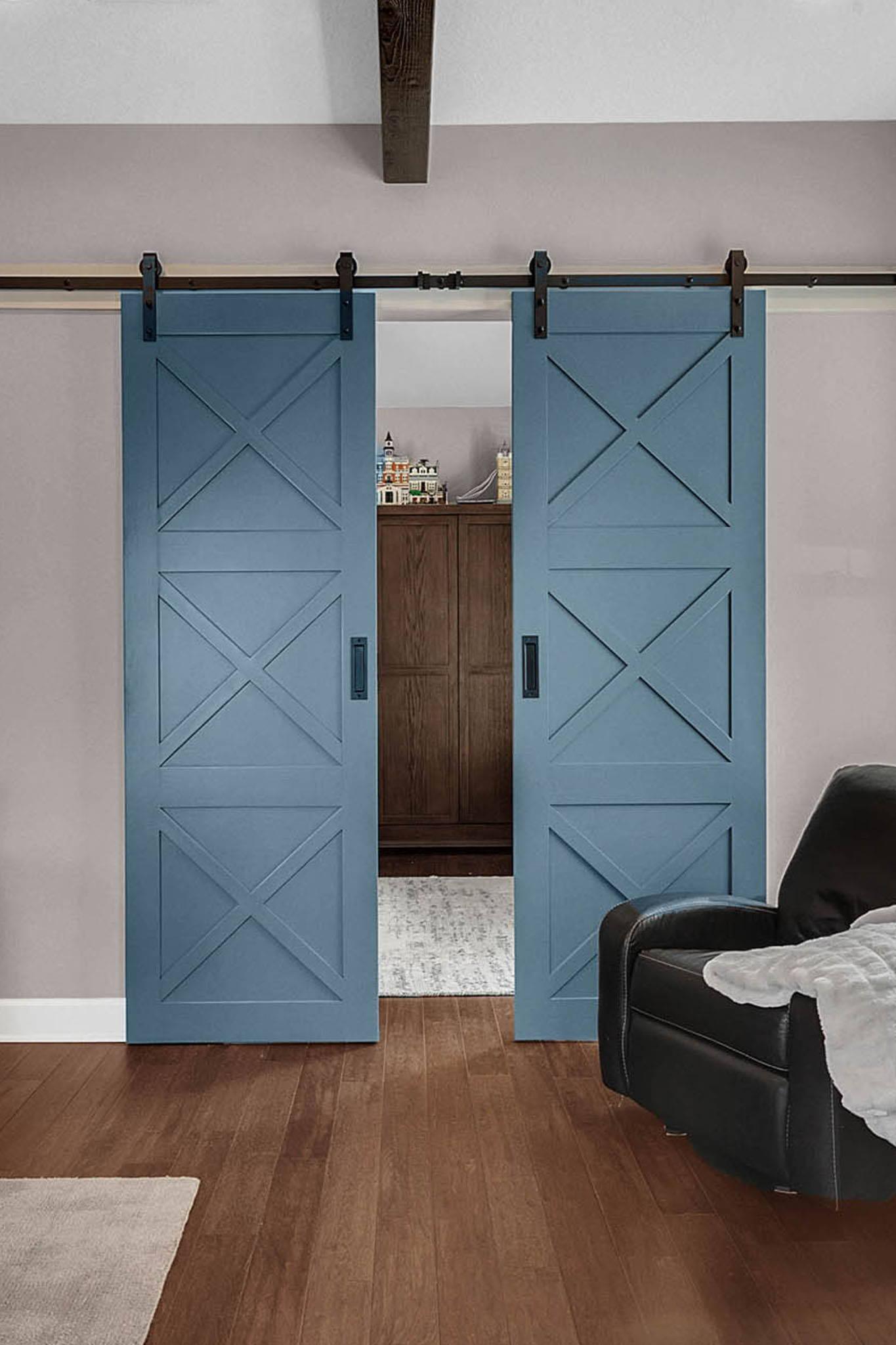 Bi-Parting Barn Doors