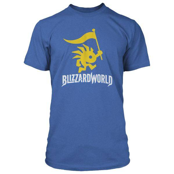 Product photo of the Overwatch Blizzard World Logo Premium Tee