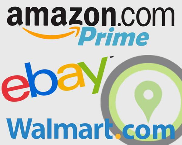 Online retailers banner