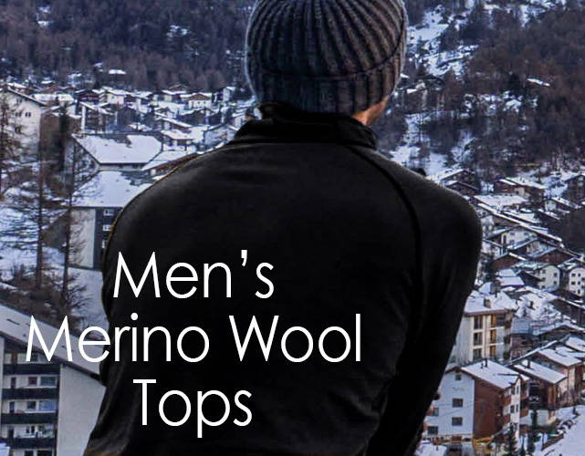 Men's Merino Wool Shirts and Tops | Free Shipping | Woolx tagged