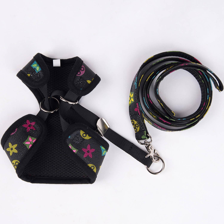 lv dog harness and leash