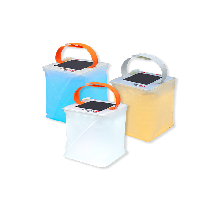 Lanterns include the multi-color spectra, warm white firefly, and white nova.