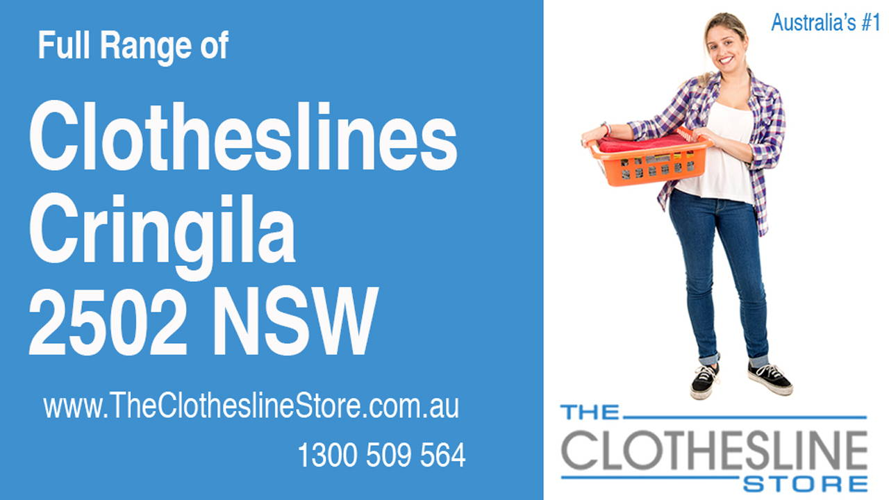 New Clotheslines in Cringila 2502 NSW