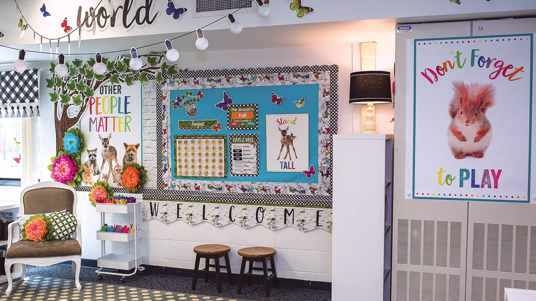 Woodland Whimsy Classroom