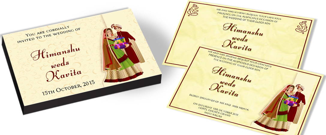 Classic Traditional Wedding Invitations