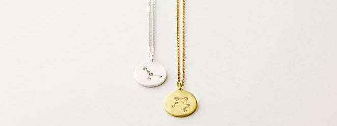 Star sign necklaces