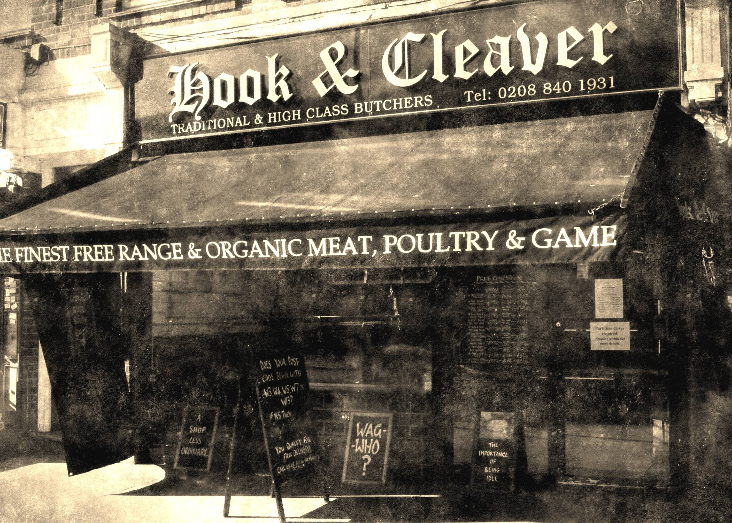 Image with link to Hook & Cleaver butchers