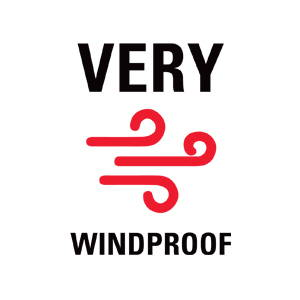 very windproof