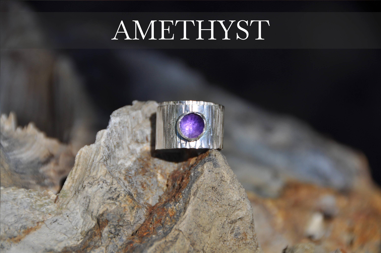 Amethyst Wrap Ring