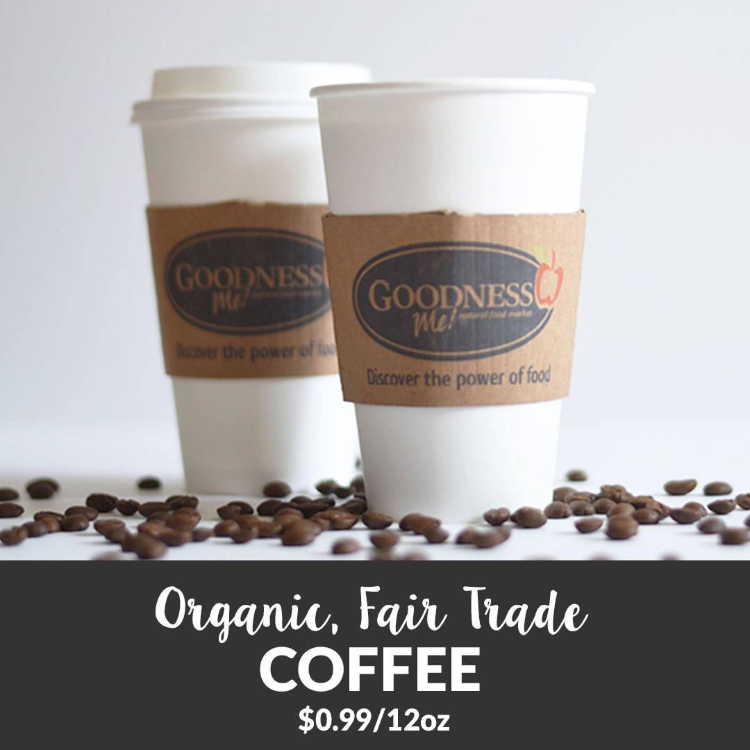 fair trade coffee take out