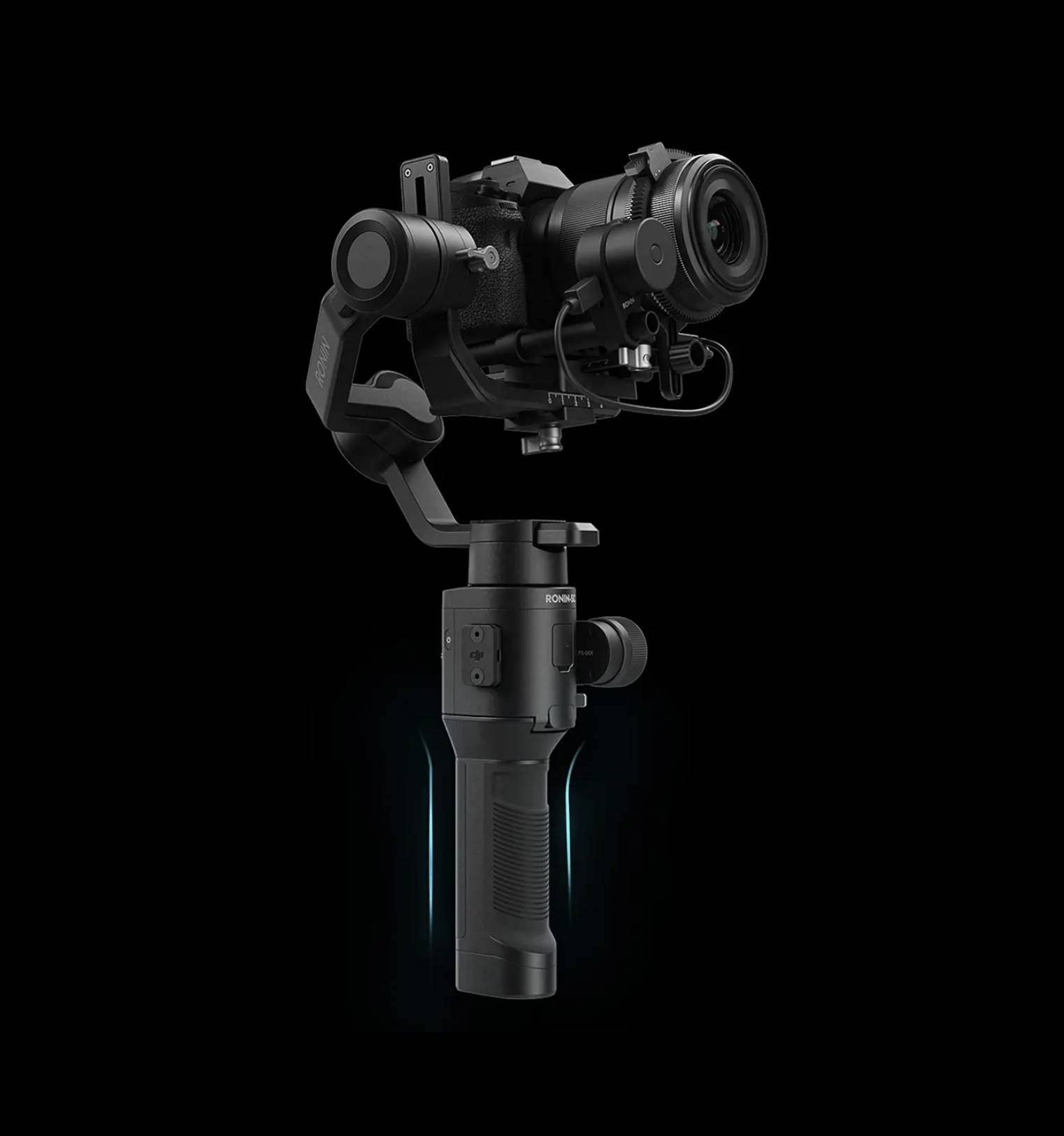 DJI Ronin-SC buttons and triggers