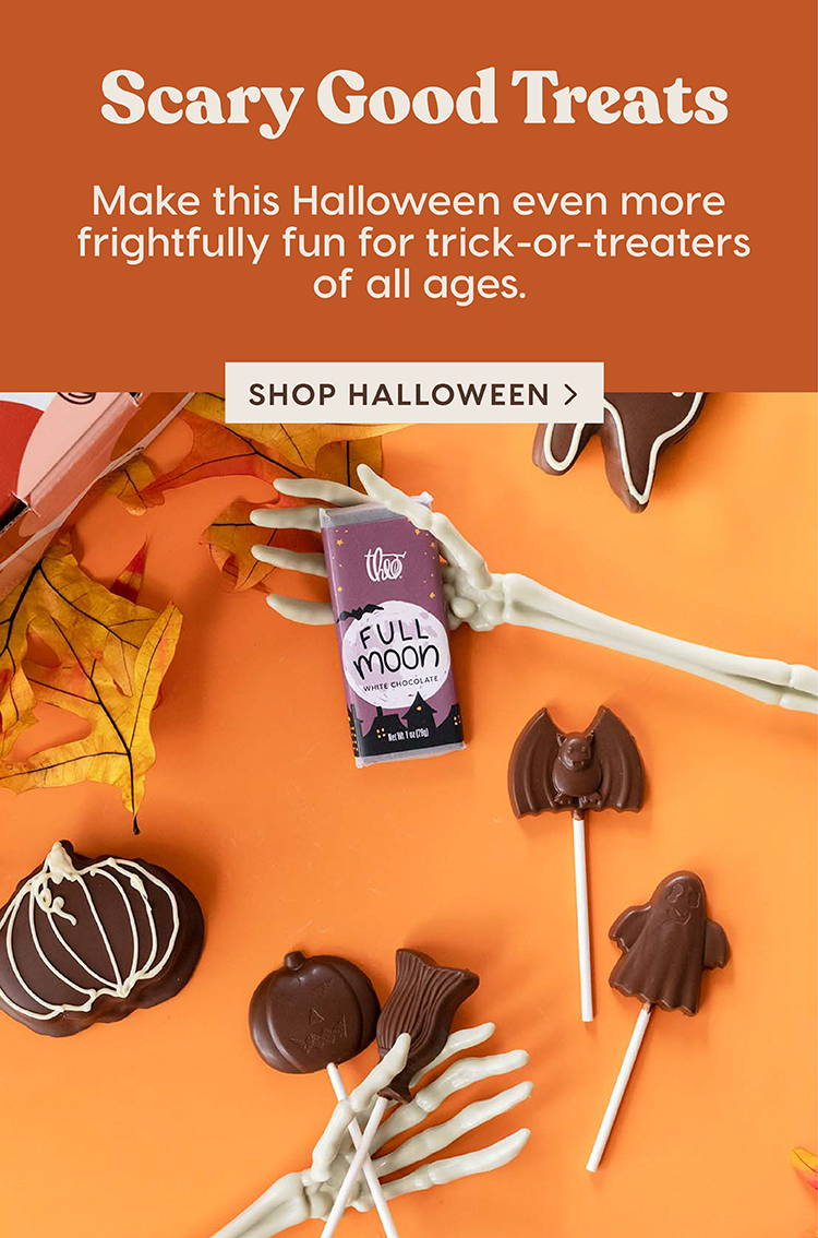 Scary Good Treats: Make this Halloween even more frightfully fun for trick-or-treaters of all ages.