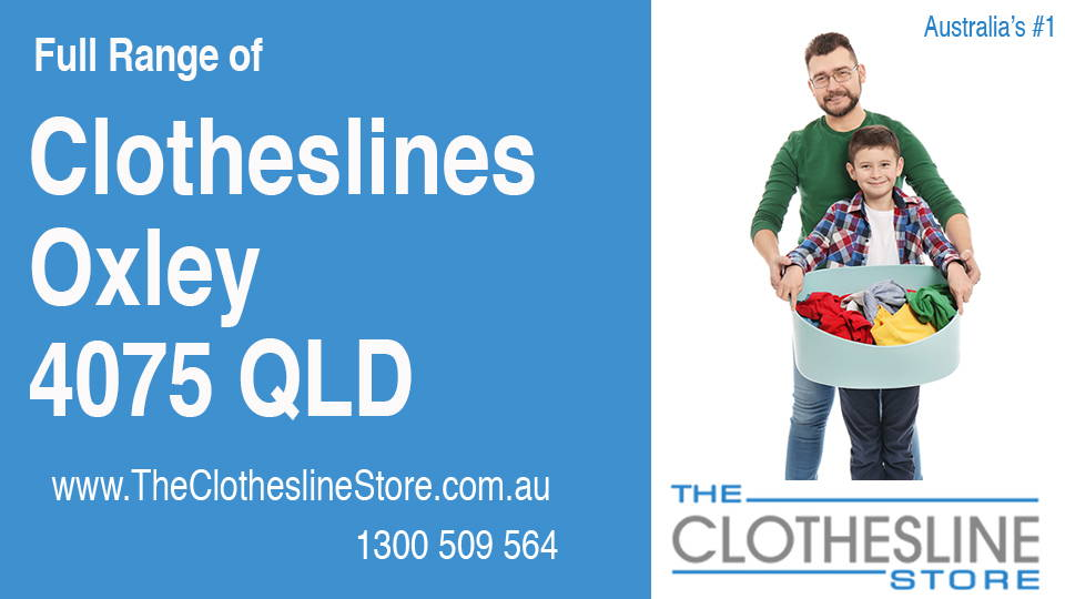 New Clotheslines in Oxley Queensland 4075