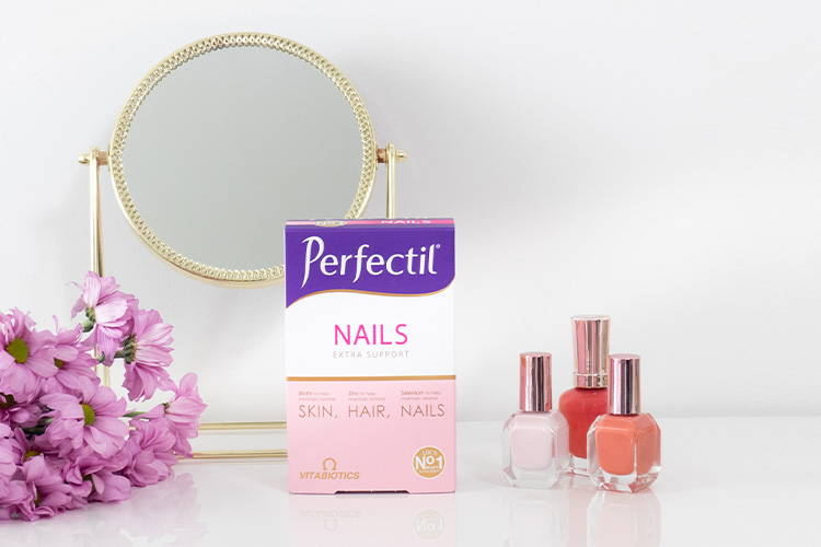 Perfectil Nails On Dressing Table