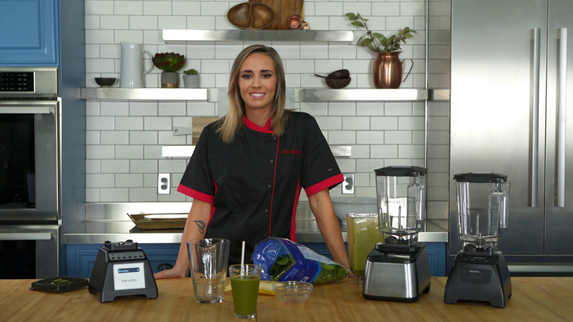 Blending 101 Green Smoothie