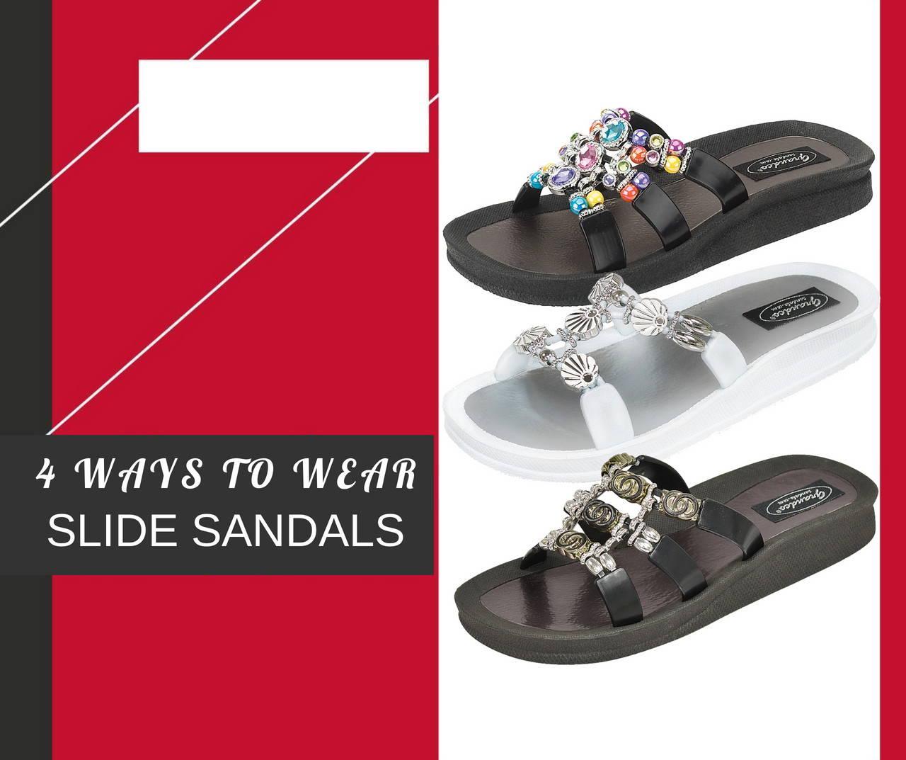4 Ways to Wear Slide Sandals