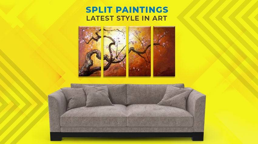 Multipiece Paintings, Split Paintings Online