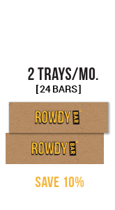 Save 10% on Rowdy Bars
