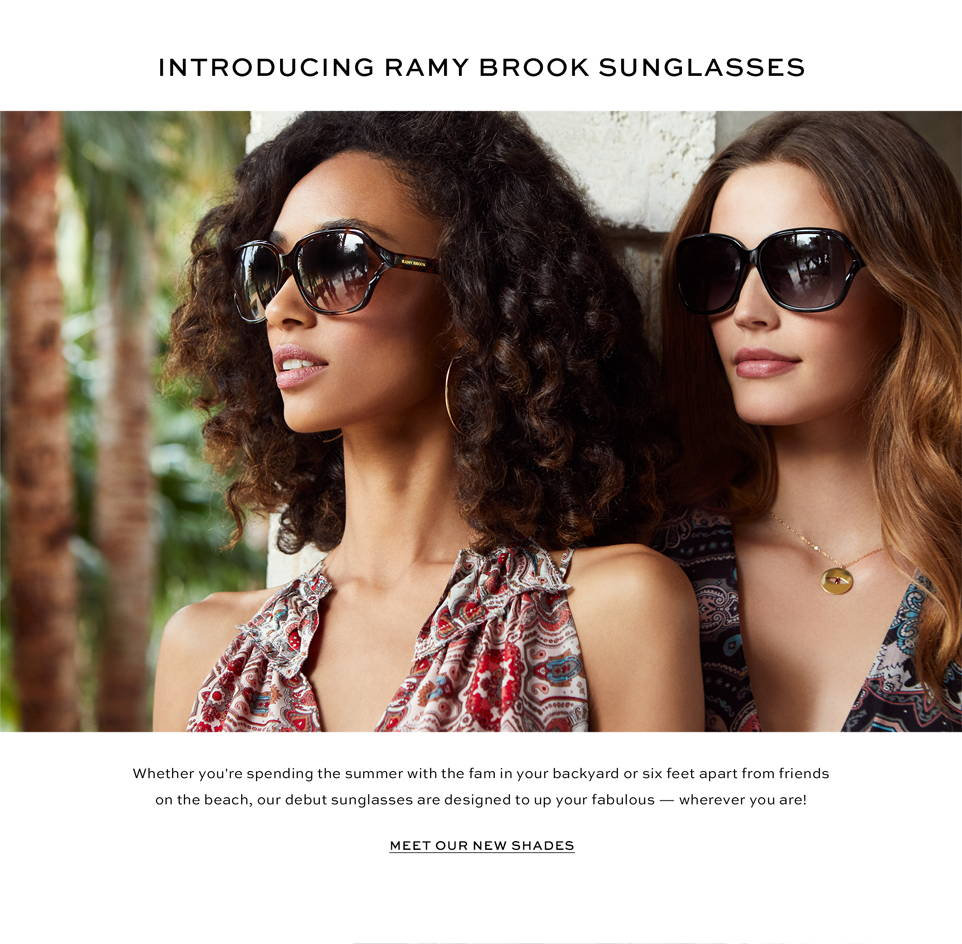 Introducing Ramy Brook Sunglasses