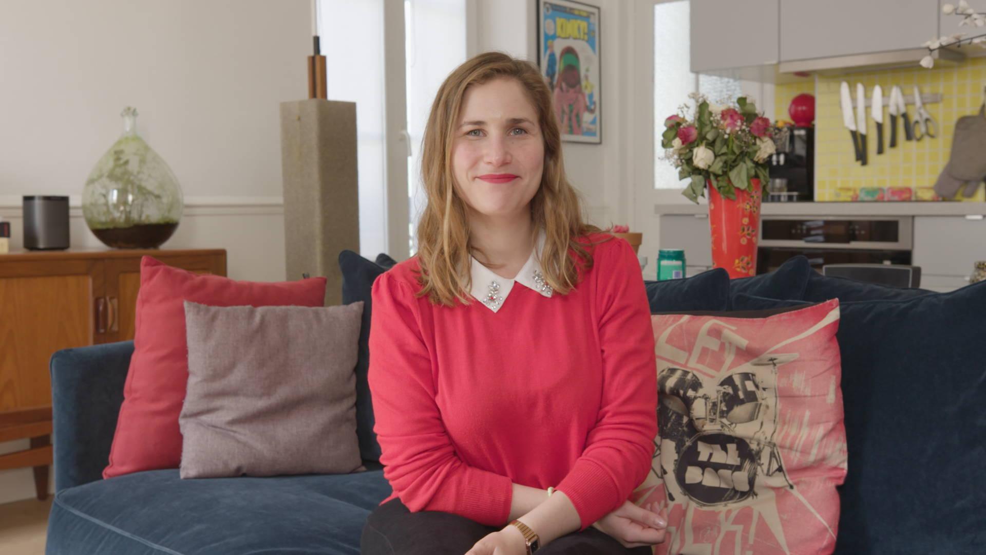 Joséphine Draï, comédienne et auteure