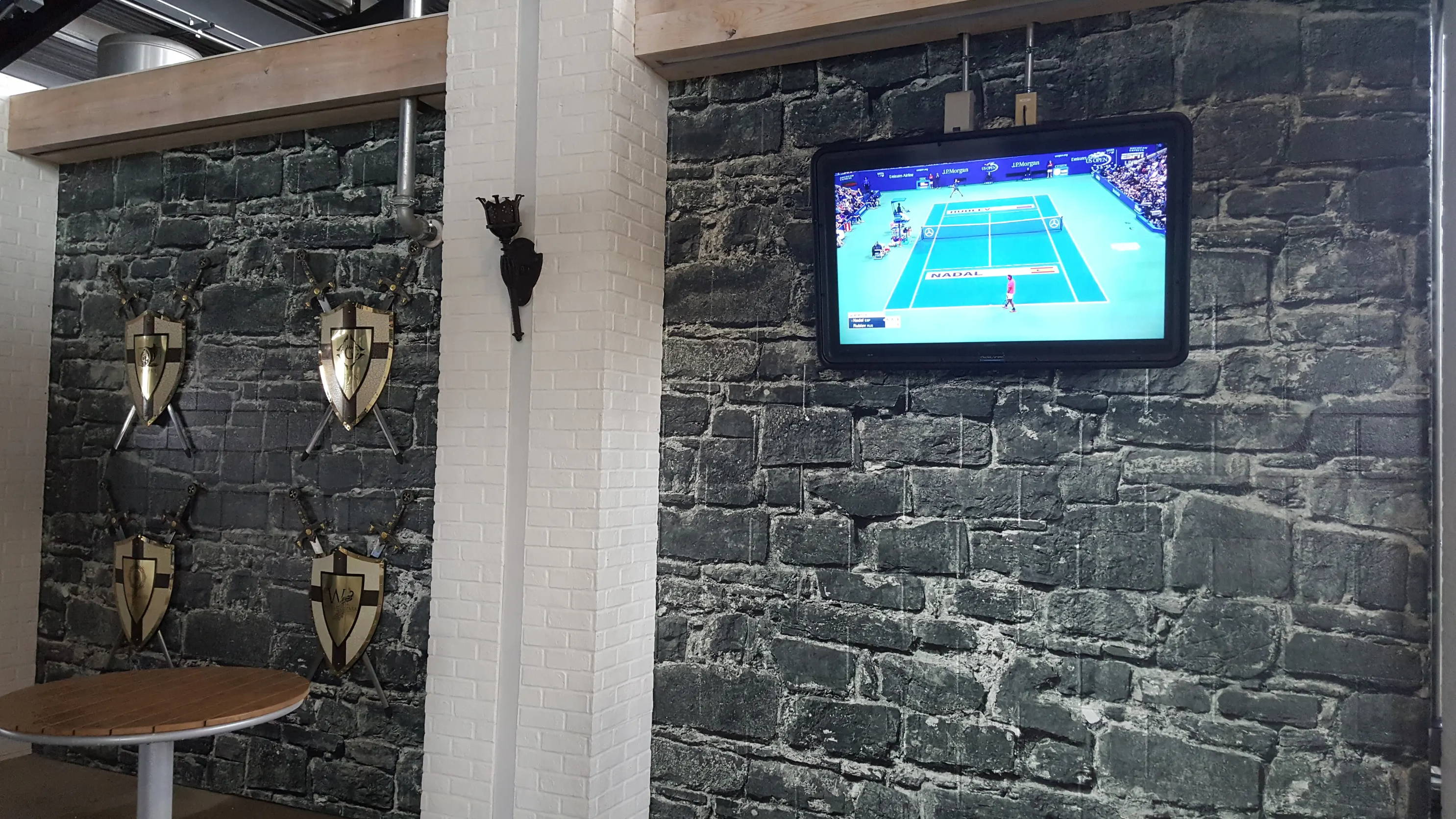 The Display Shield® UCF Stadium Outdoor TV Cabinet Install