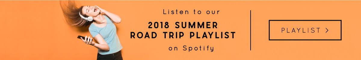 2018 Summer Road Trip Playlist on spotify