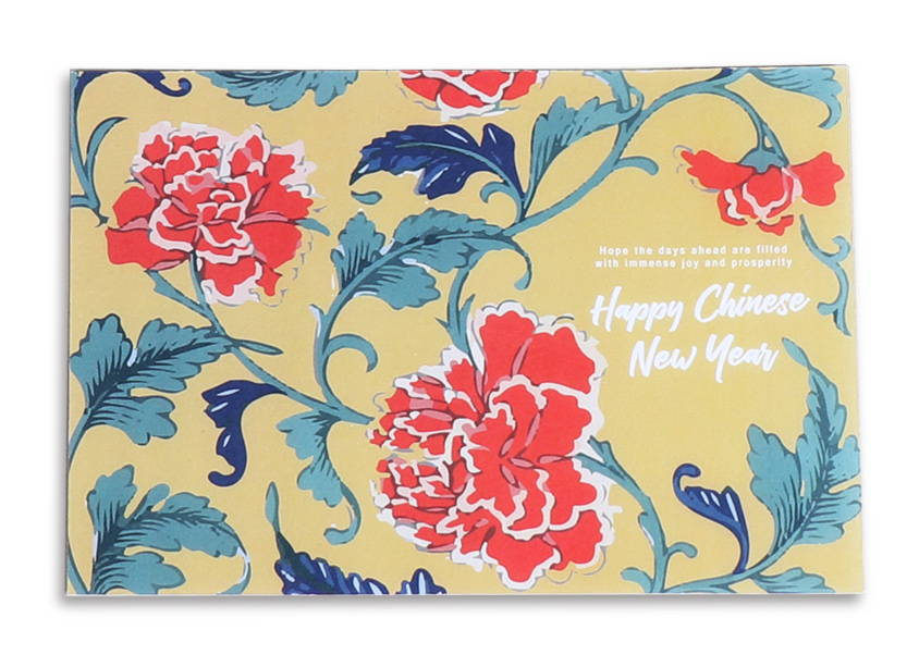 Colette & Lola CNY Greeting Card