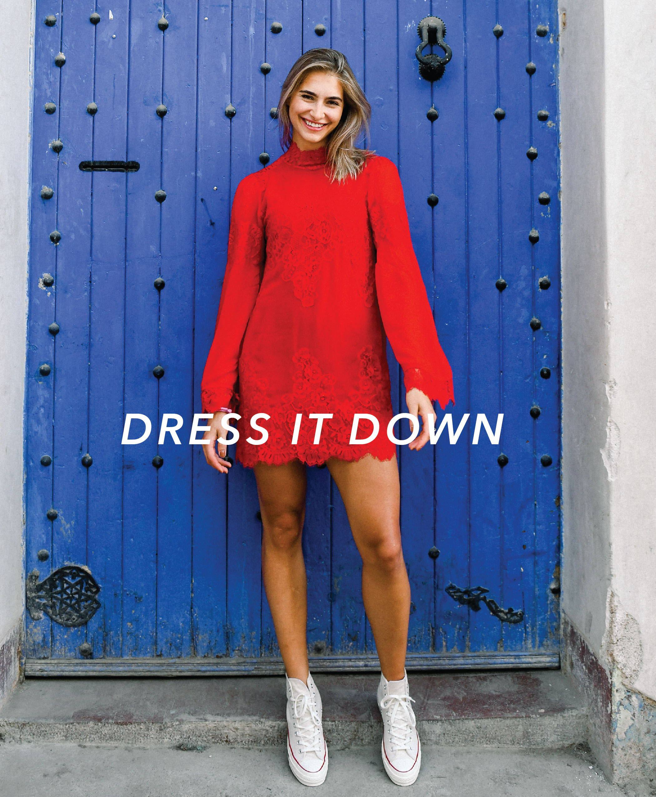 dress it down