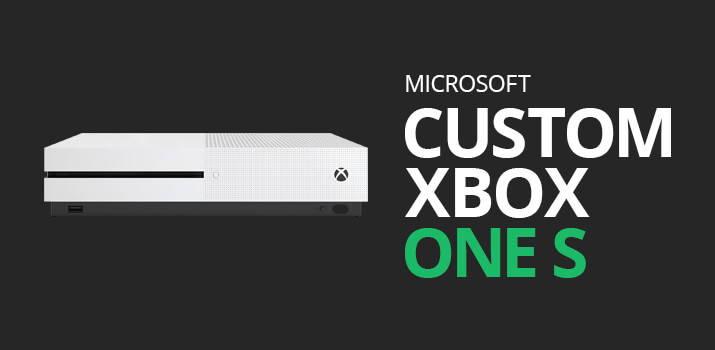 Custom Xbox One S Skins