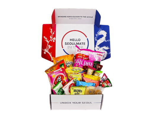korean snack box kpop merch