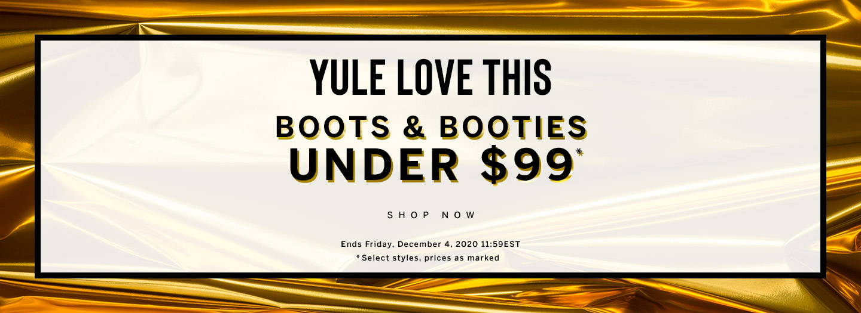 Boots & Booties Under $99