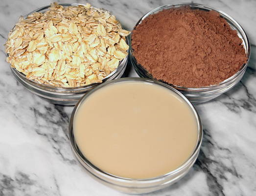 Chocamine Overnight Oats Ingredients