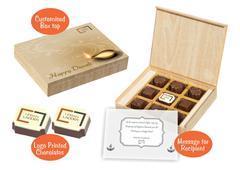 Diwali gift ideas for corporates (9 Chocolates - 100 Box)
