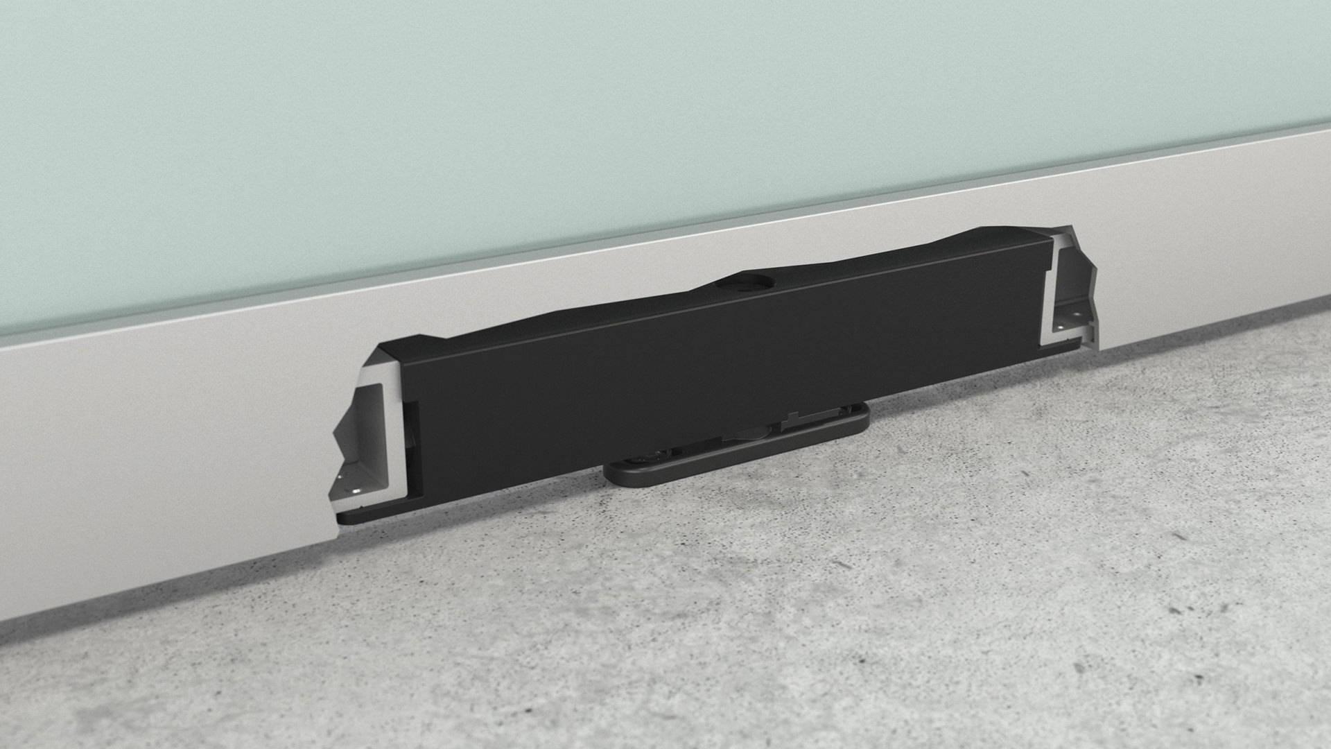 Portapivot 6530 invisible pivot hinge