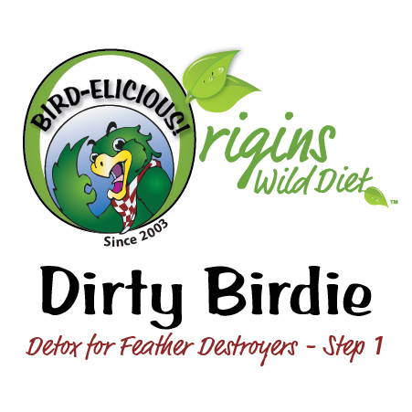feather destroyer, feather destructive, plucking, picking, Better Feathers, Dirty Birdie, Dirty Bird, Detox