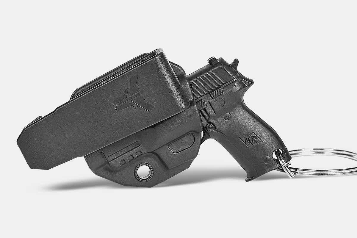 Holster/Firearm Keychain 02