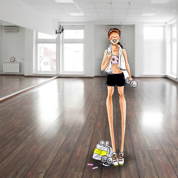 scribble-purebee-postworkout-gym-sport-sweaty-girl