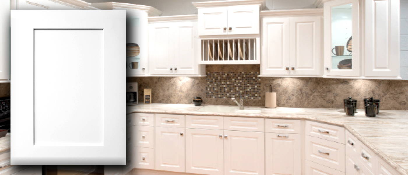 Kraftsman Cabinetry Summit White Shaker Kitchen