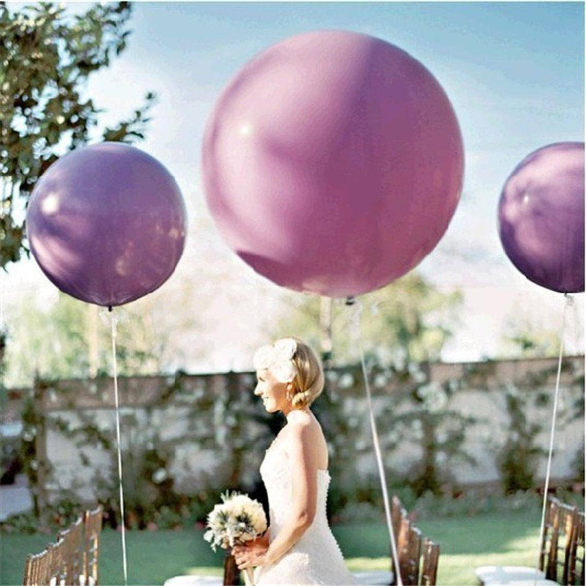 Lavender 36'' Jumbo Balloon Set | Purple Party Decor | 16th 20th 21st Birthday Party |Wedding Decor | Bridal shower | Engagement Party