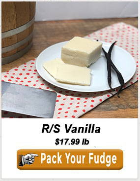Reduced Sugar vanilia fudge