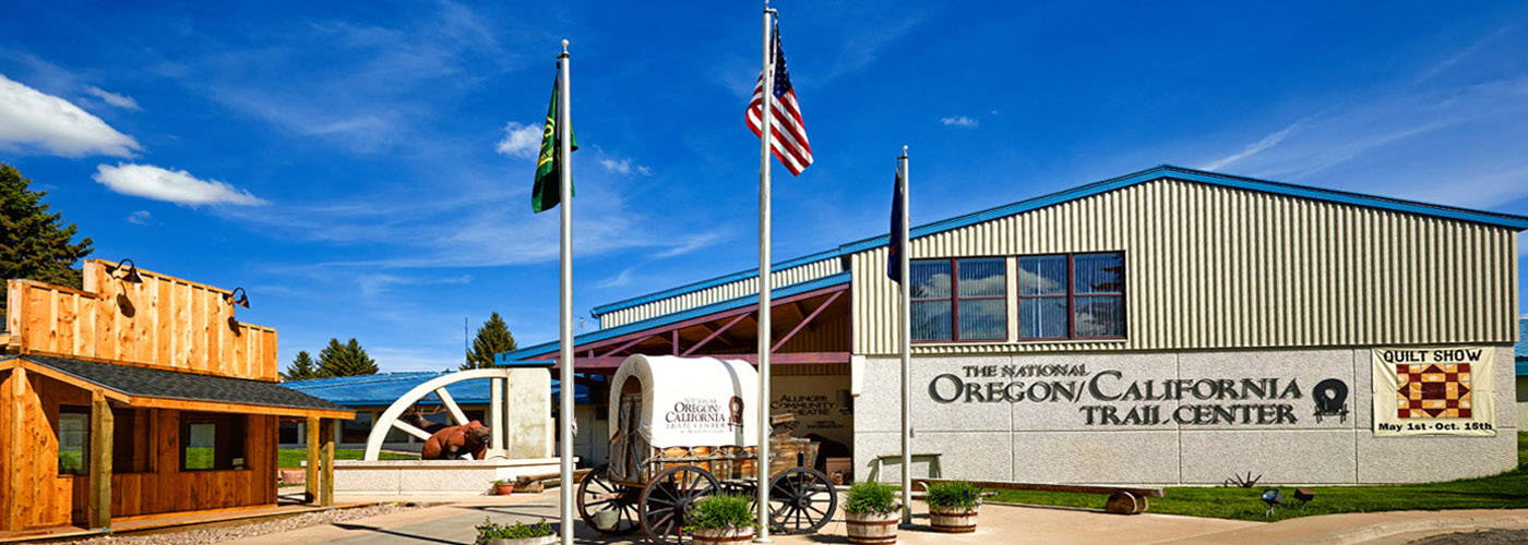 The National Oregon/California Trail Center is located within the beautiful Bear Lake Valley of Southeastern Idaho