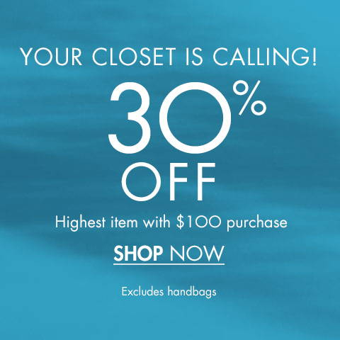 30% Off Highest items with €100 purchase