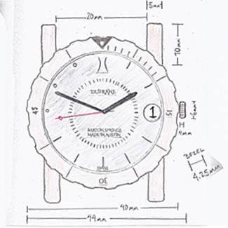 Making the Barton Springs 656 original drawing