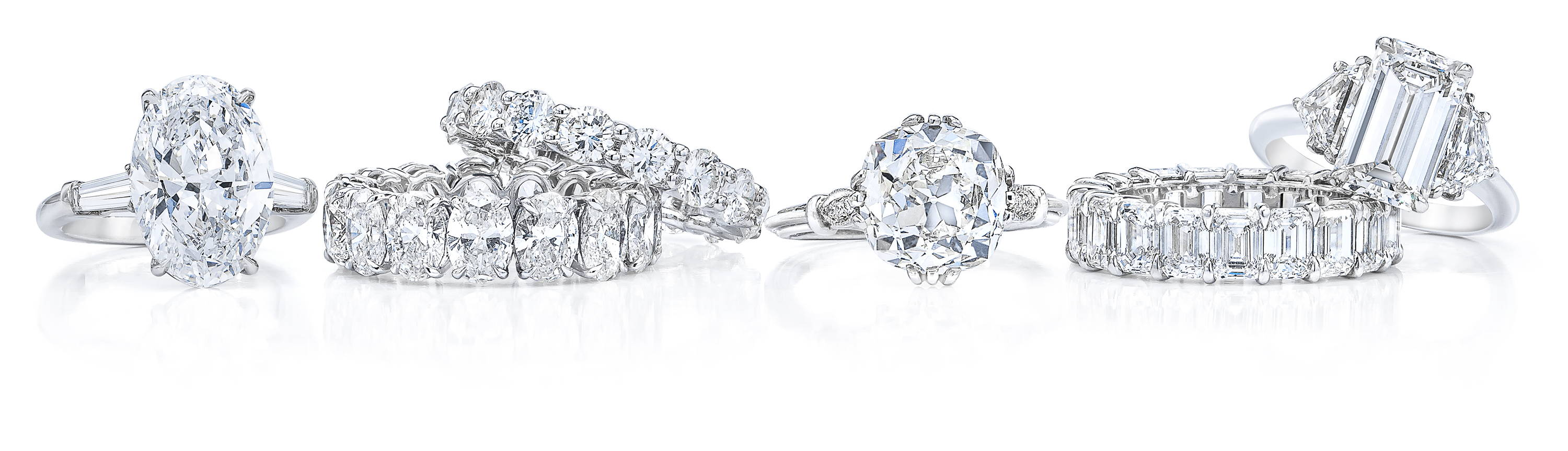 Various Ring Concierge bespoke engagement rings and wedding bands