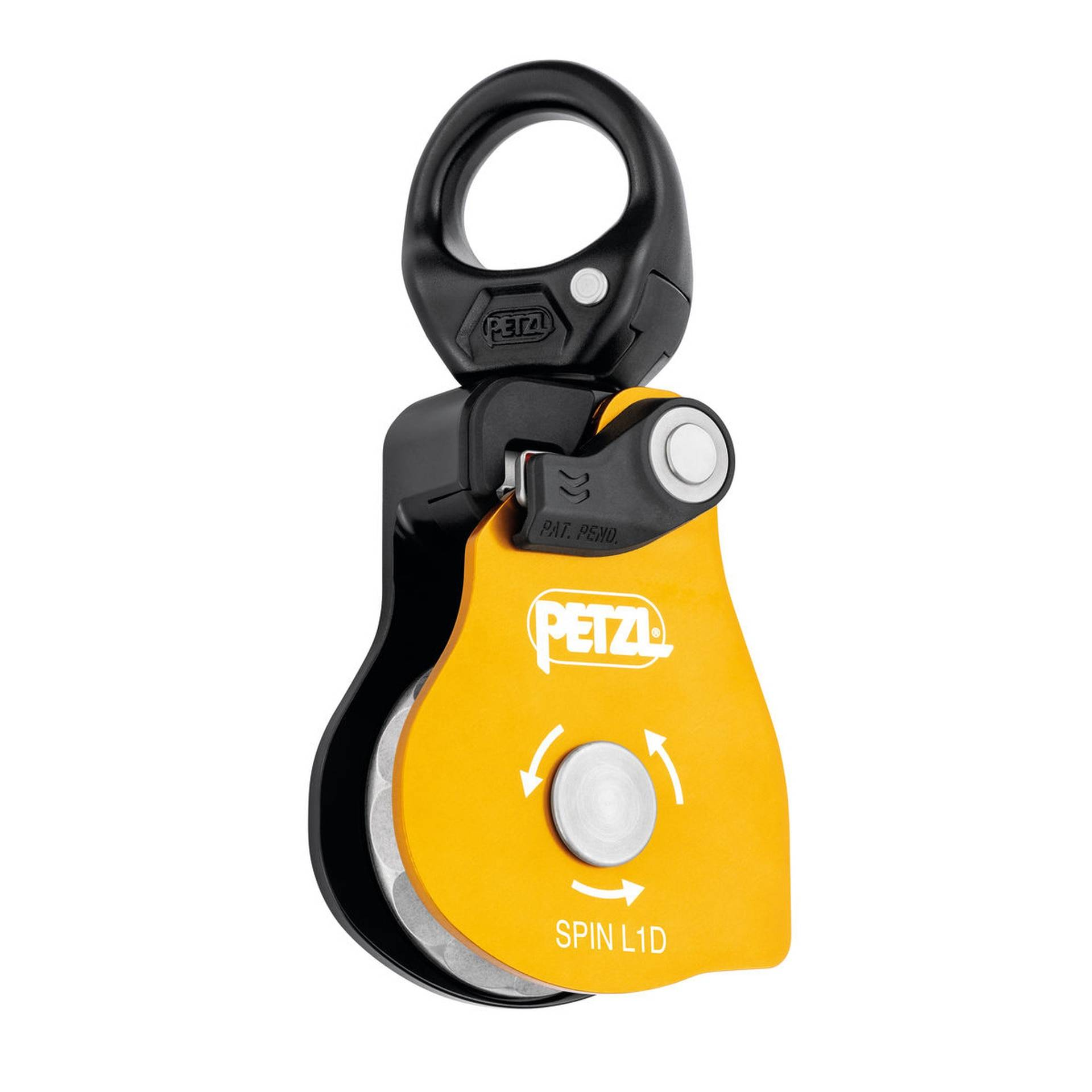 image of Petzl SPIN L1D One Way Rotation Pulley