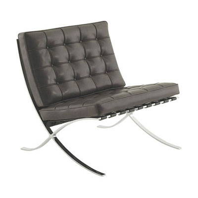 Modern Black Lounge Chairs