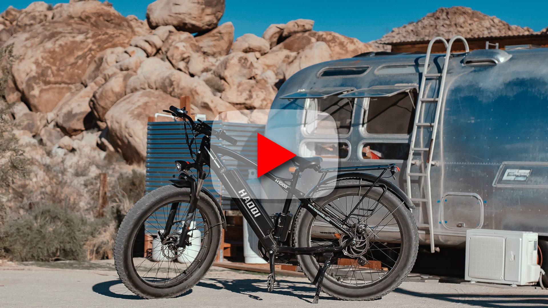 All Terrain Fat-Tire e Bike 2021   Riding With HAOQI Adventure